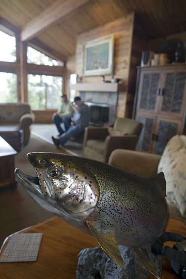 Enchanted-Lake-Lodge-Trout-Art
